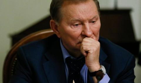 Кучма на переговорах в Минск…