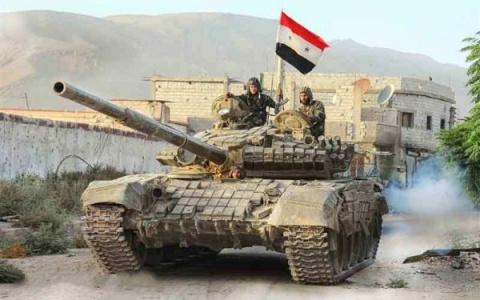 Армия Сирии стягивает больши…
