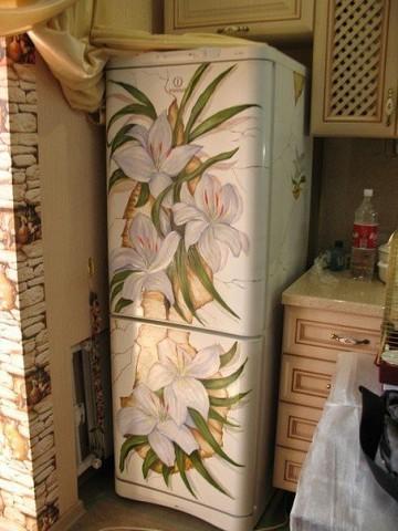 Крутые идеи для росписи холодильника