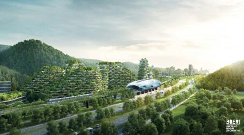В Китае хотят создать зелены…