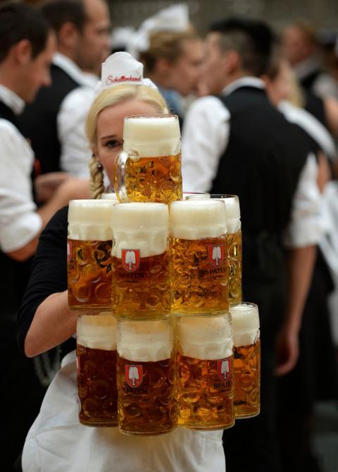 В Мюнхене открылся 181-й Октоберфест, фоторепортаж