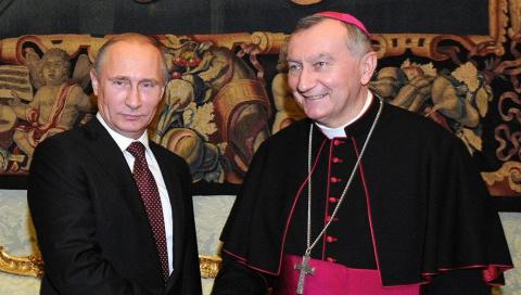 Путин и посланник Ватикана: чего боится Запад?