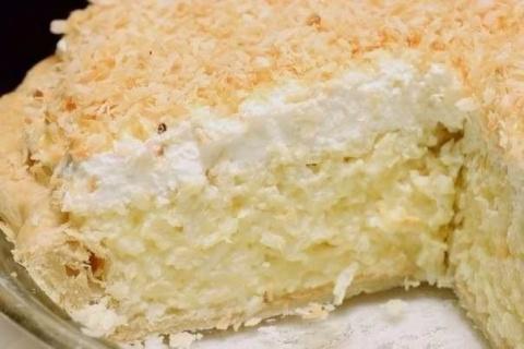 Кокосовый пирог со сливками …