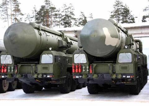 Российские военные в 2014 году получат 40 баллистических ракет
