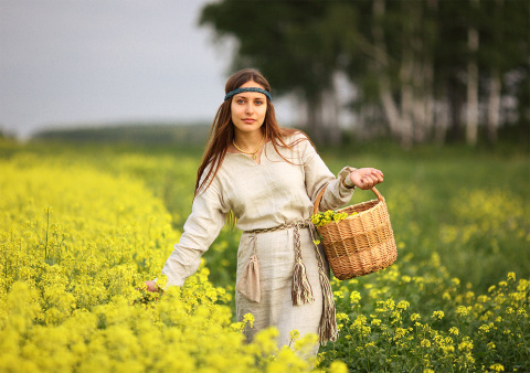 Почему русские женщины ником…