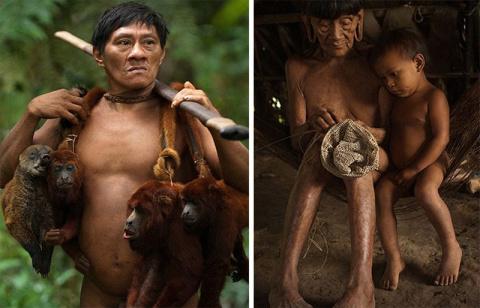 Охотники на обезьян: первобы…