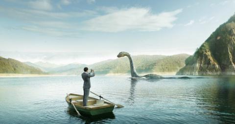 На озере Лох-Несс снова заме…