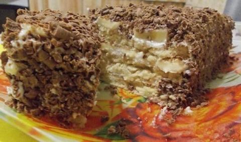 Замечательный творожный торт с печеньем из серии гости на пороге или для ленивых хозяек