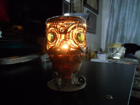 Волшебная филигрань. Зажигаем свечи и огни!