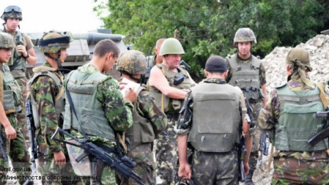 В батальонах украинской армии произошла трагедия!