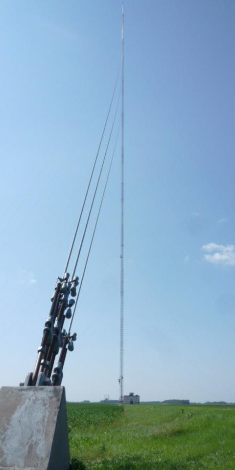 Самая высокая телемачта в мире