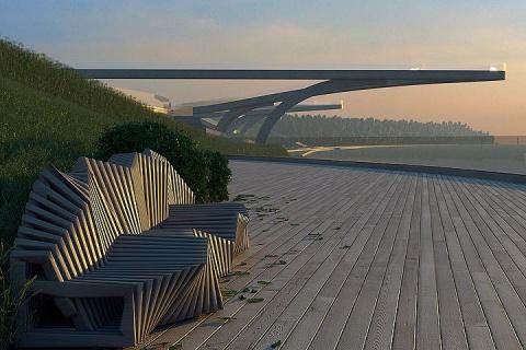 Новые «парящие» мосты для пешеходов могут появиться в Москве на набережной Хорошево-Мневников