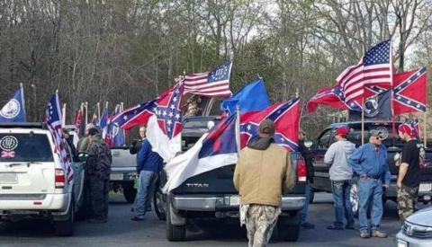Белые начинают… «Война с памятниками» ведёт США к гражданской войне