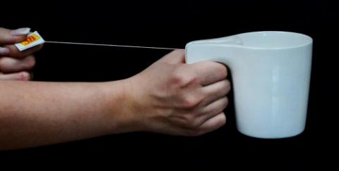 С чашкой SlingsHot не пропадет ни одной капли вкусного чая