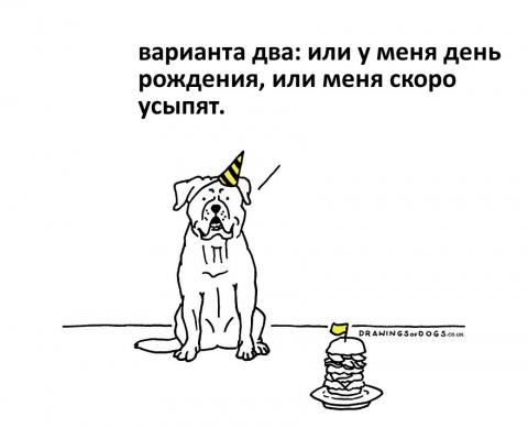 Комиксы про собак, которые живут своей жизнью
