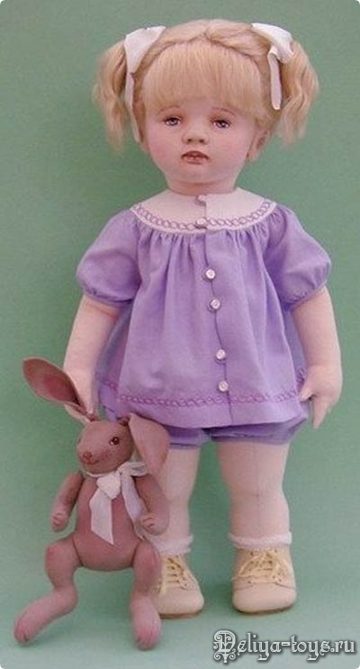 Teresa Churcher и её текстильные куклы.