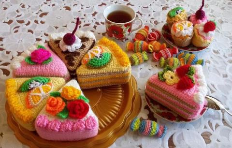 Вязанные сладости. Хочется у…