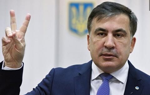 """Саакашвили прокомментировал """"обещание"""" Порошенко не вредить России"""