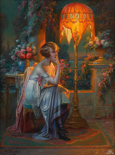 Макс Карлье (Max Albert Carlier), 1872-1938. Бельгия