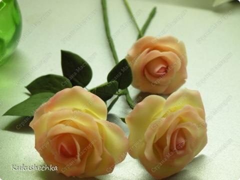 МК Холодный фарфор Цветы из фарфора
