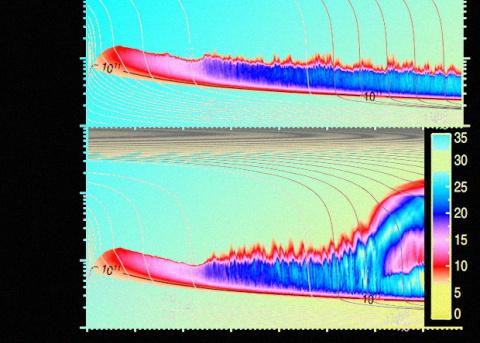 Мюоны ускорили сжатие нейтронной звезды