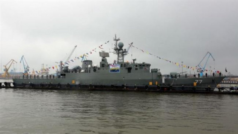 Крупнейший корабль ВМС Ирана…