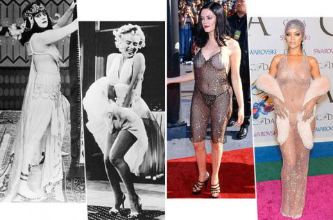 Вы одеться не забыли?! 20 самых скандальных платьев в истории