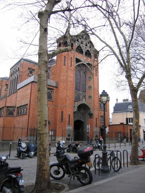 Церковь на Монмарт...