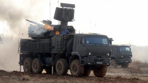 Минобороны России заключило контракт на поставку в войска очередной партии ЗРПК «Панцирь-С»