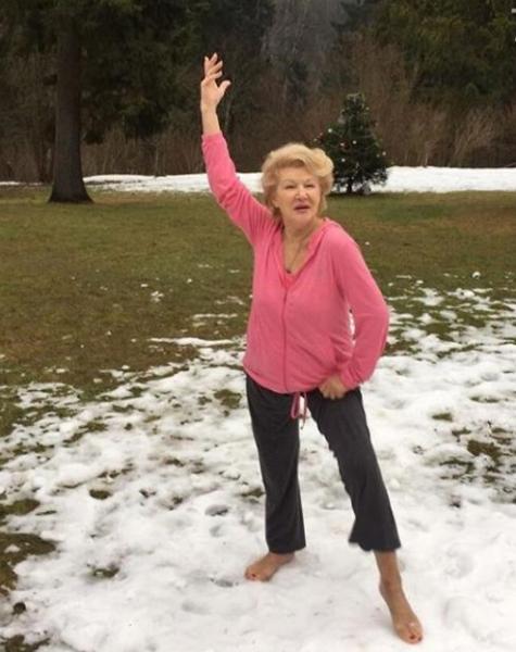 Светлана Дружинина рассказала, как оставаться здоровой в 82 года