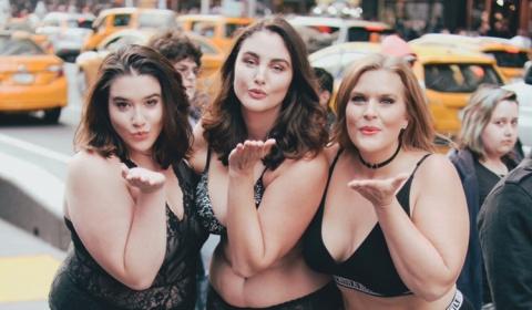 «Объемная» красота обычных женщин — пышки объявили войну стереотипам