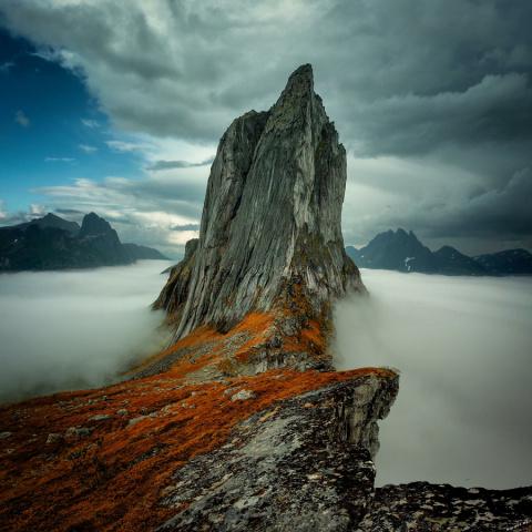 Оставляя в горах своё сердце...
