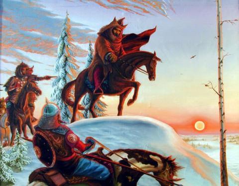 Причины остановившие монголо-татарское нашествие на Новгород.