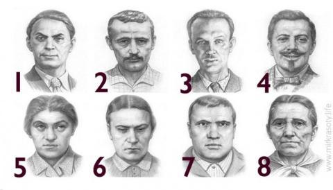 Тест Сонди. Выберите человек…