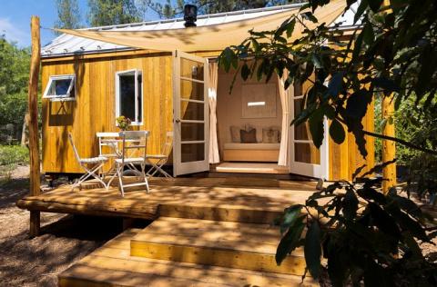 Чем меньше, тем лучше — уютный домик площадью всего 13 кв. метров