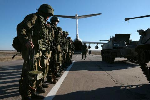 Десантно-штурмовой батальон сформирован в Крыму