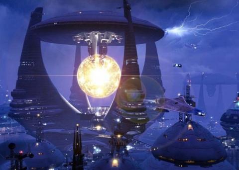 Космические пейзажи и миры б…