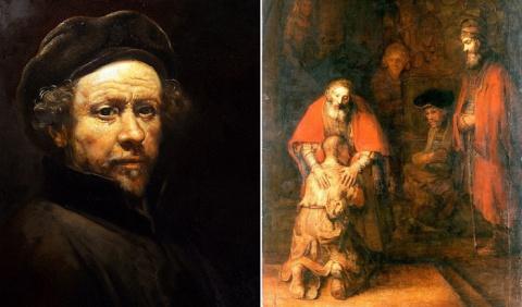 «Возвращение блудного сына» — последняя картина Рембрандта как отражение личной трагедии художника