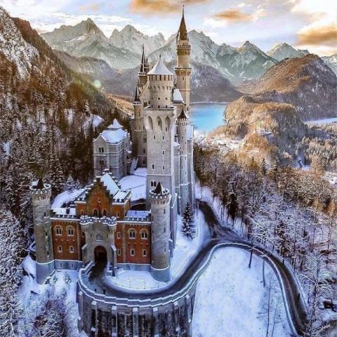 Самый сказочный замок. Краси…