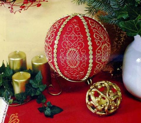 Схема к новогодней вышивке —…
