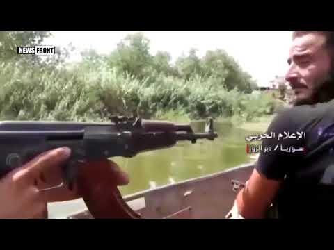 Спецоперацию в Дейр-эз-Зоре, на западном берегу Евфрата, провела сирийская армия