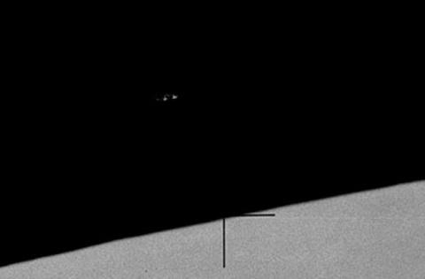 Аполлон 15 в 1971 году заснял на Луне корабль пришельцев?