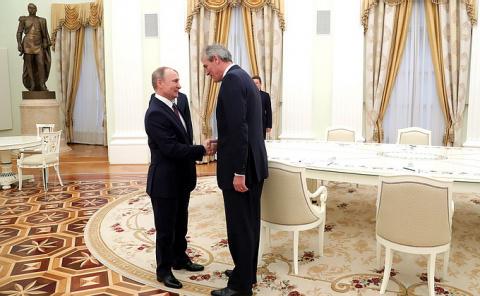 Путина пригласили в Австрию …