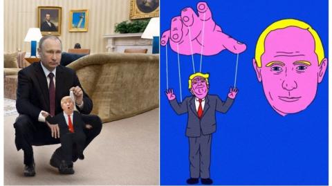 Встреча Путина и Трампа в ка…