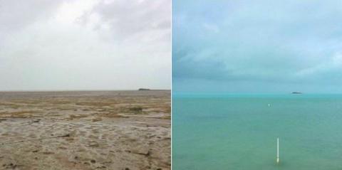 Океан исчез! Редчайшее явлен…