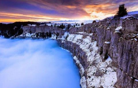 Природная горная арена Крю-де-Ван