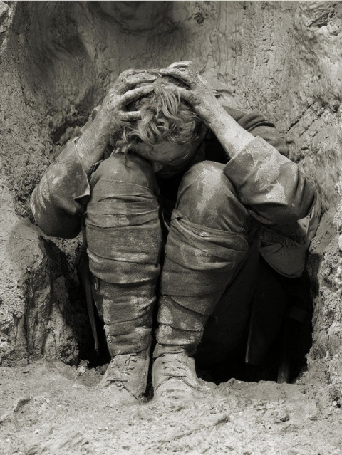 Страшная правда о том, как обходились с жертвами контузии во время Первой мировой войны