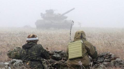 Донбасс сегодня: ополченцы у…