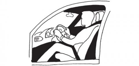 Посадка водителя