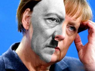 Меркель становится все агрессивнее. Что-то мне это напоминает...